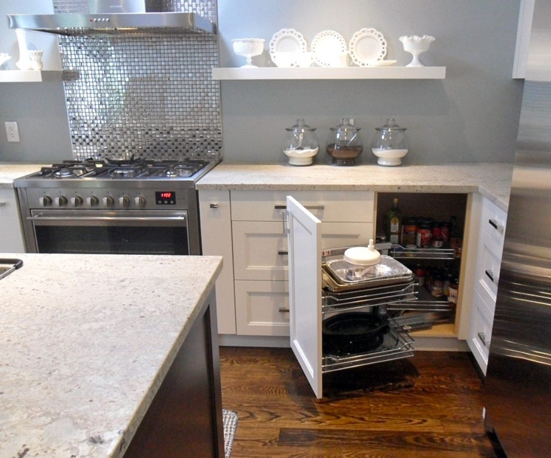 kitchen storage solutions magic corner lazy susan recycle